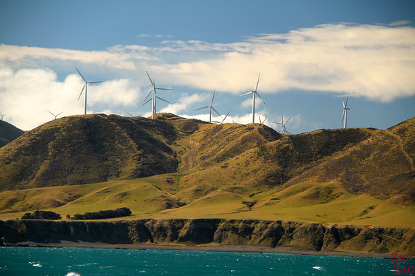 Wind Farm North Island, NEw Zealand
