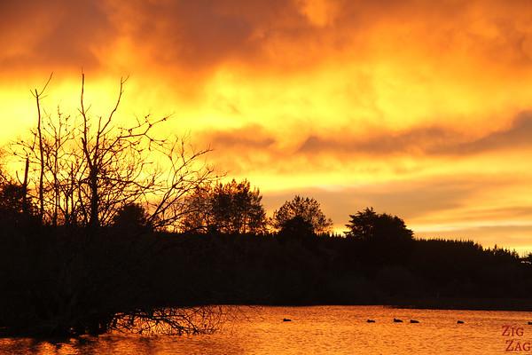 Sunrise lake New Zeland 4