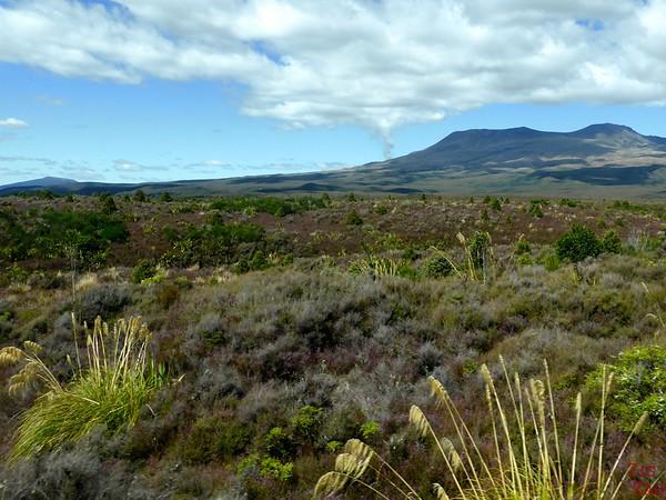 Volcanic activity at Tongariro New Zealand photo 2