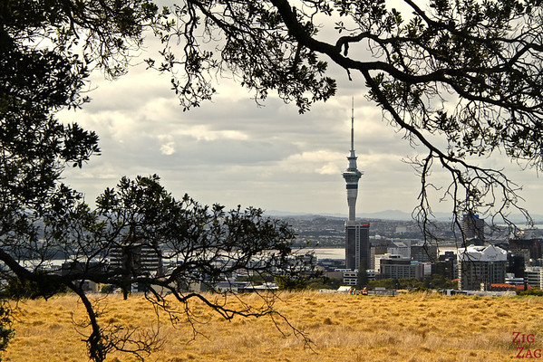 Photographing Auckland Skyline from Mount Eden, New Zealand photo 3