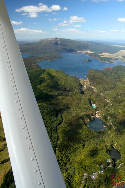 View from the floatplane Rotorua, New Zealand photo 3