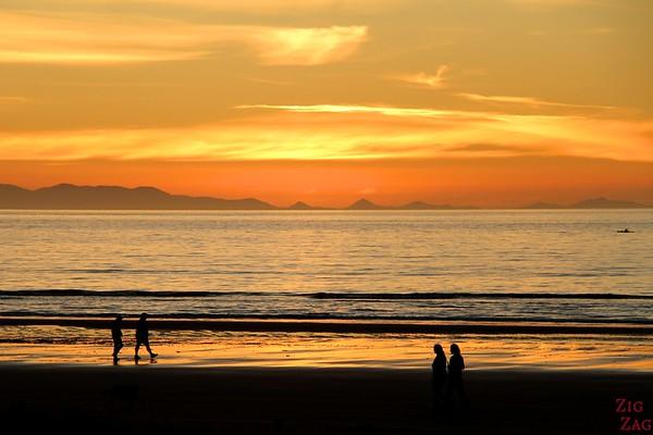 Beach sunset in New Zealand 5
