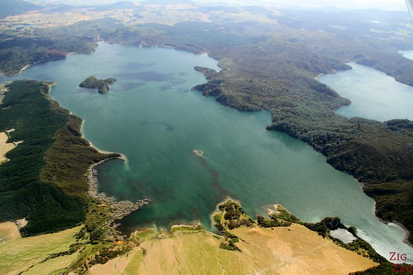 View from the floatplane Rotorua, New Zealand photo 4