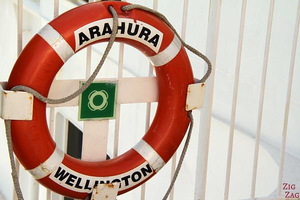 Arahura: our ferry