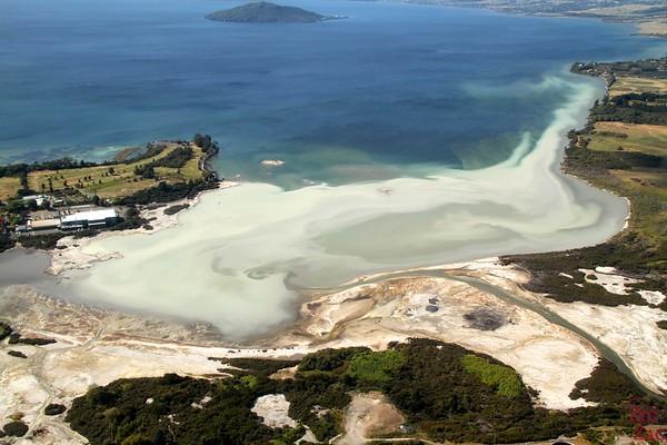 Sulphur smell Rotorua, New Zealand