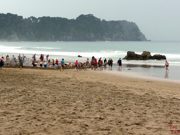 Hot water beach, Coromandel, New Zealand photo 1