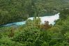 Wikato River rapids, Huka Falls, Taupo, North Island, New Zealand