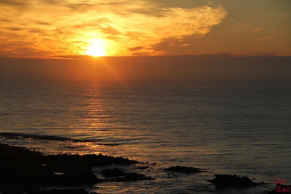 Beach sunrise South Island, New Zealand 1