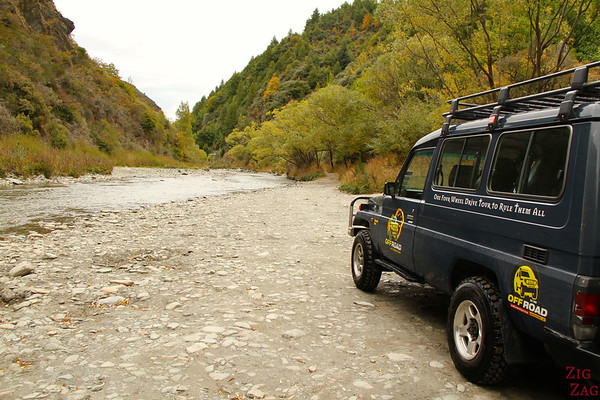 River crossing 4WD adventure Queenstown New Zealand photo 3