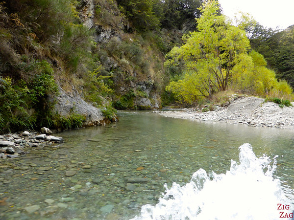 River crossing 4WD adventure Queenstown New Zealand photo 2