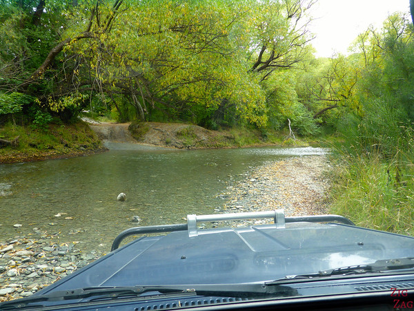 River crossing 4WD adventure Queenstown New Zealand photo 1