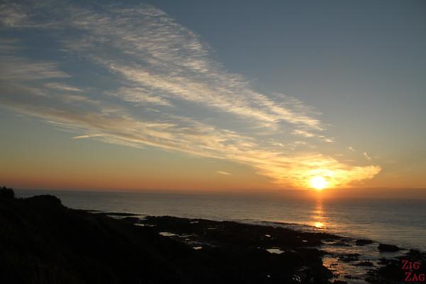 Beach sunrise South Island, New Zealand 2