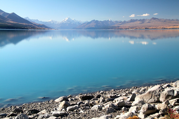 Best location in New Zealand: Lake Pukaki