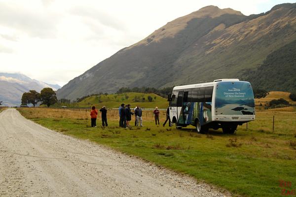 Bus tour Glenorchy