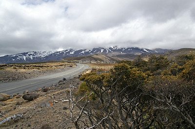 Lava fields of Mount Ruhapehu, Tongariro National Park, North Island, New Zealand