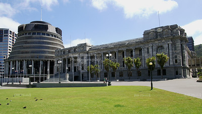 Parliament Buildings in Wellington