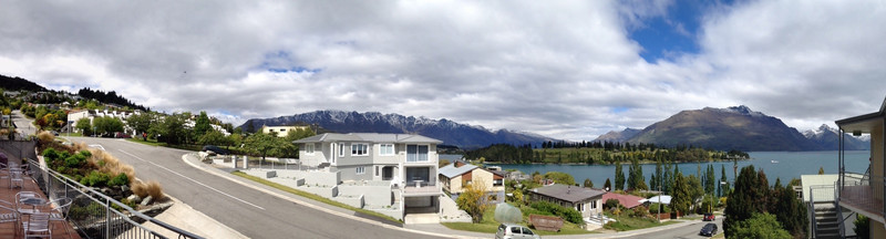 View from the Hotel, Queenstown