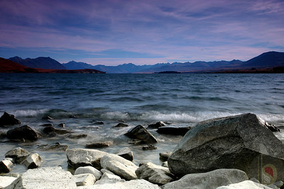 Landscape and Seascapes form South Island  :  New Zealand
