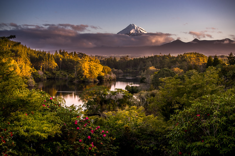Evening Light - Lake Mangamahoe