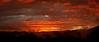 A steamy sunset over Rotorua