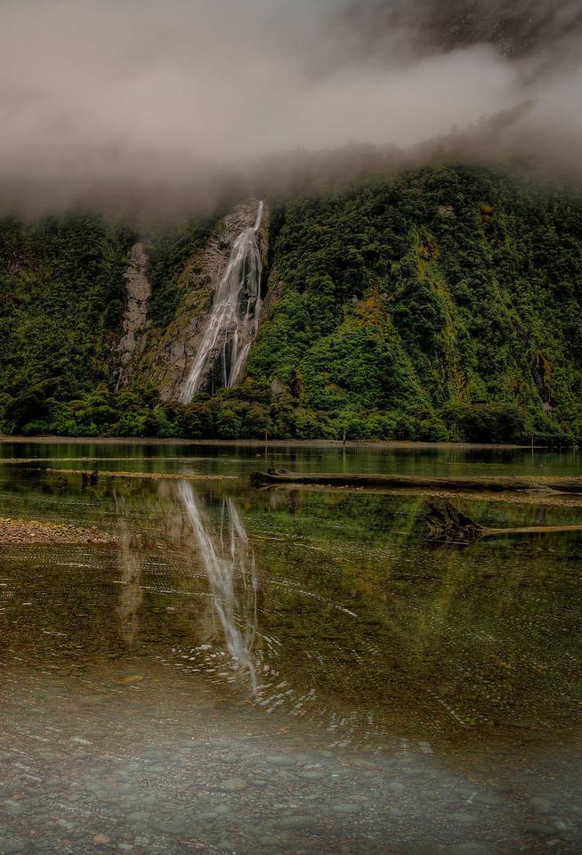 Bowen Falls, Milford Sound New Zealand