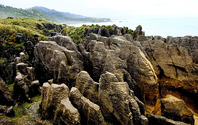 Pancake Rocks- Punakaiki, New Zealand