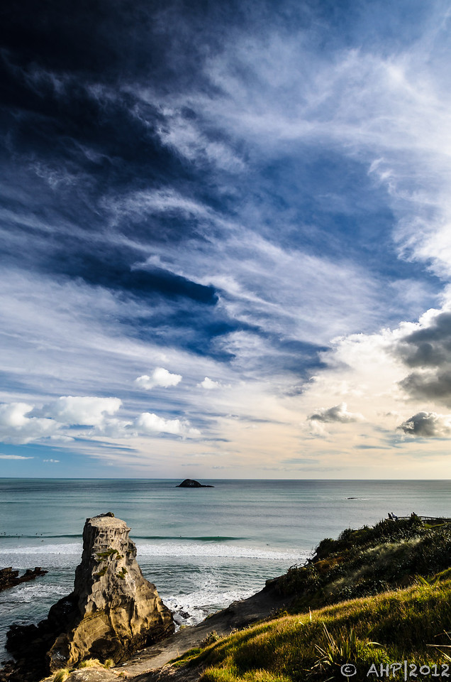 Muriwai - without the gannets