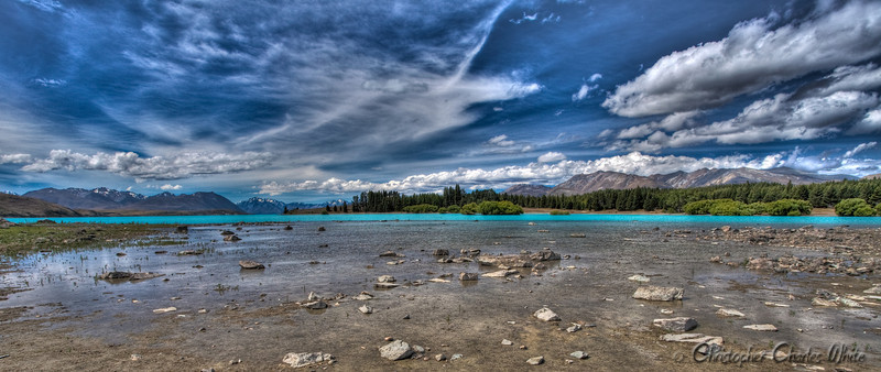 Lake Tekapo, New Zealand HDR