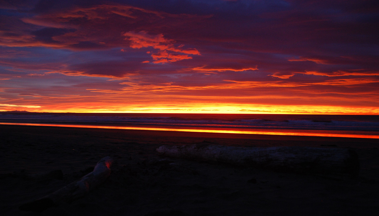 Sunrise over The Pines Beach, Christchurch