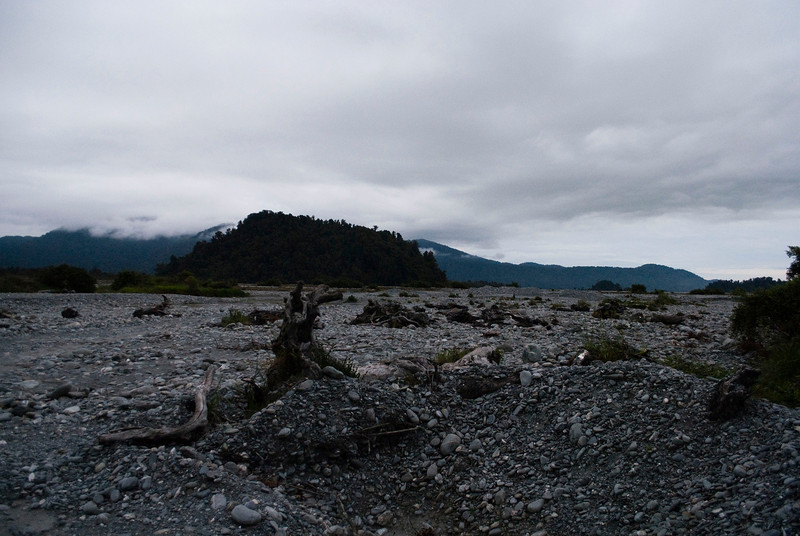 Rocklands outside Franz Josef Glacier village