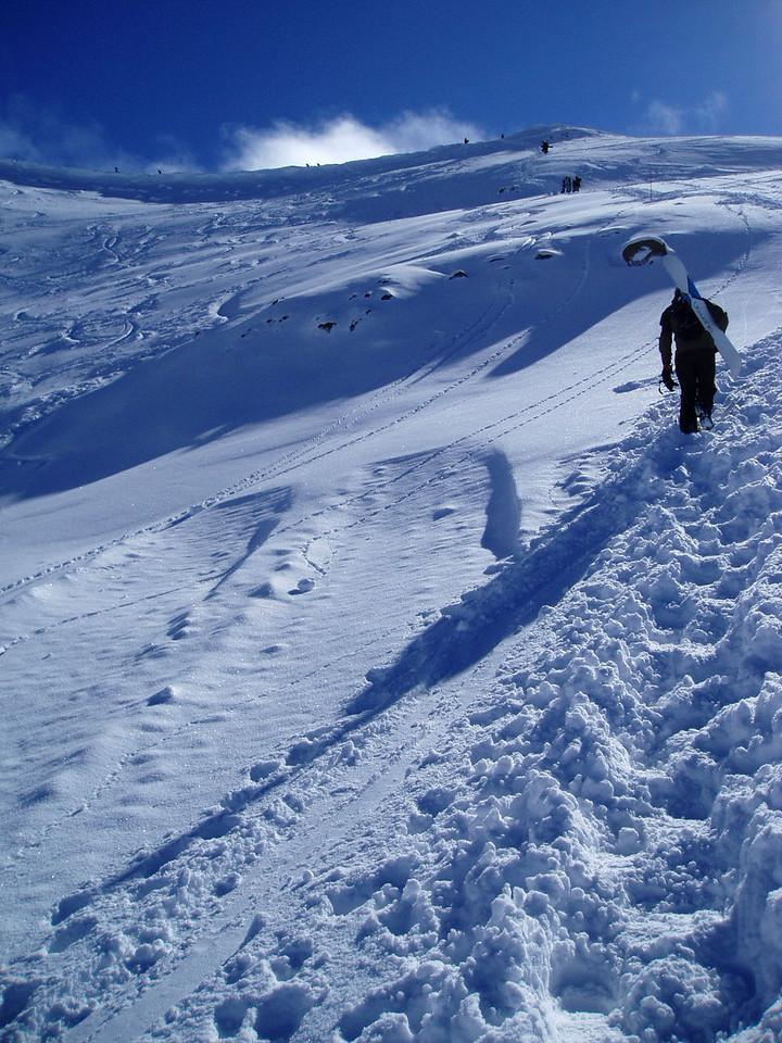 The ridge hike. Ohau