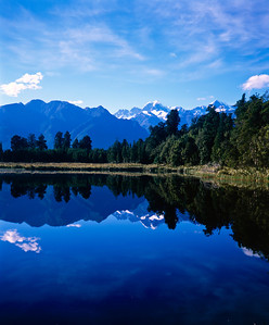 Lake Mapourika, near Franz Josef Glacier, New Zealand