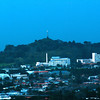 A view of Auckland and One Tree Hill from Sky Tower. You can see the extinct volcanoes in the background.