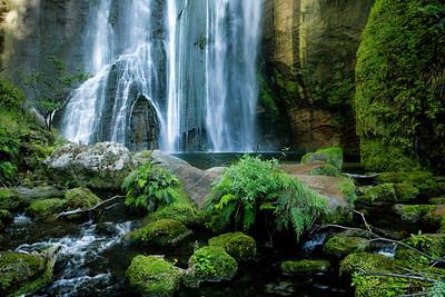 Waterfall near Napier.