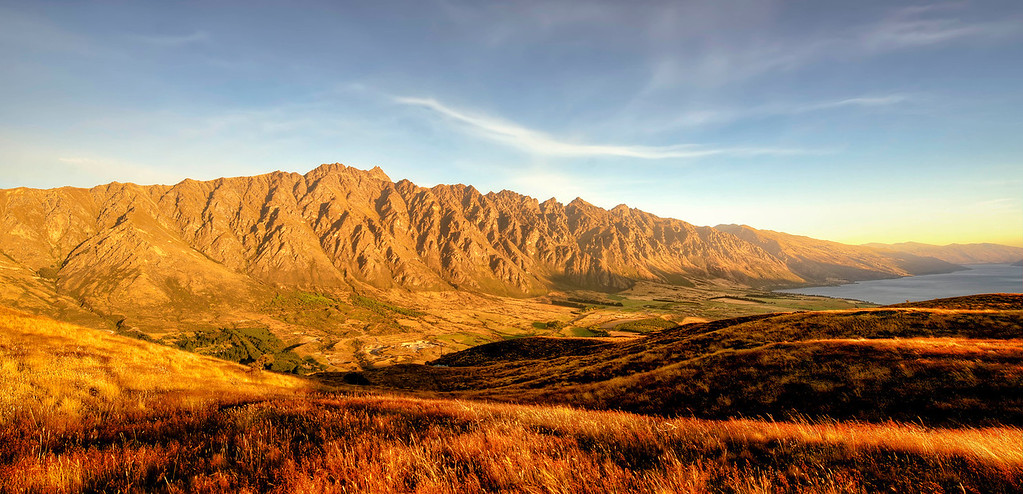 "Mountain Range called ""The Remarkables""  In Queenstown New Zealand"