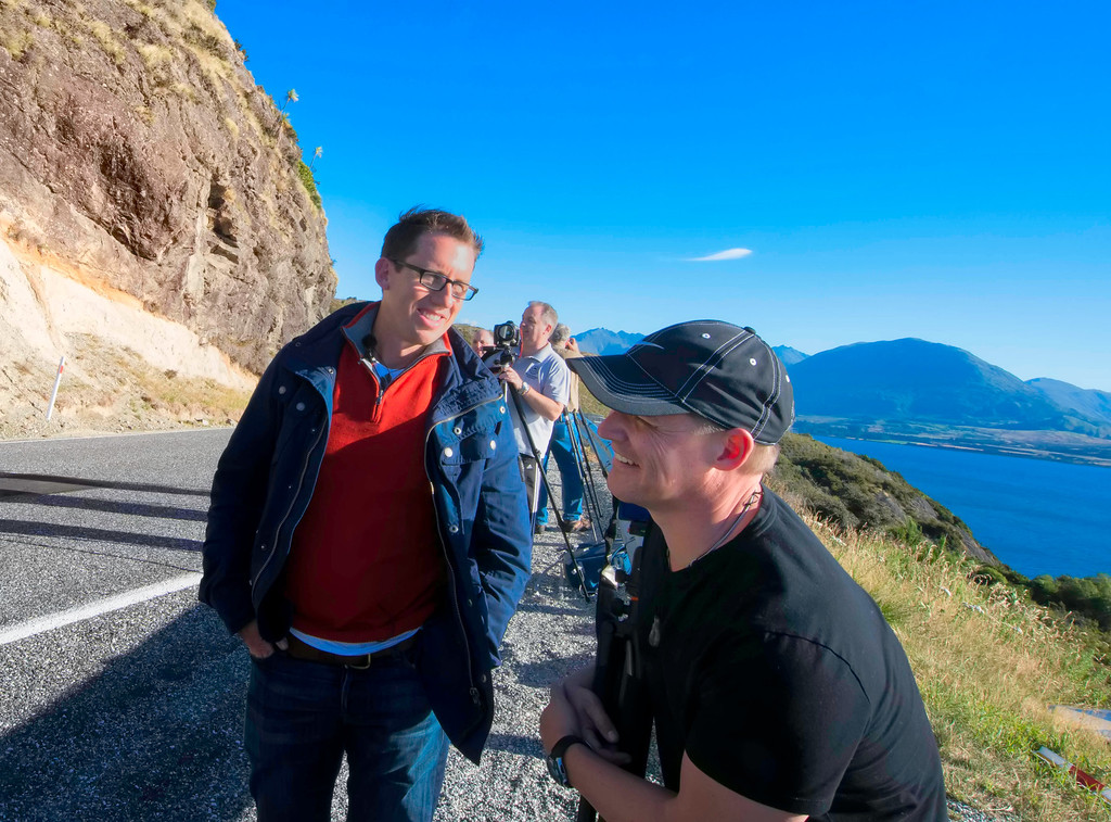 Trey Ratcliff and Curtis Simmons figuring out our next move.