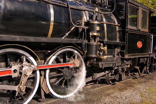 Waipara steam engine