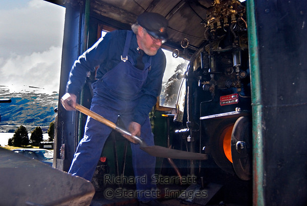 Waipara steam engine