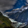 Franz Josef Glacier, New Zealand HDR