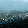 A view of Auckland from Sky Tower. You can see the extinct volcanoes in the background.