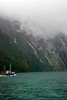 Milford Sound, average annual rainfall 266 inches, 0.7 inch per day.