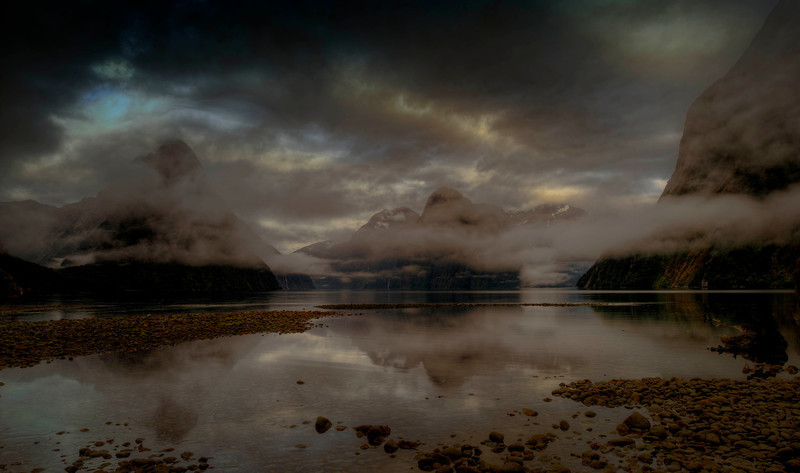 Milford Sound basin.