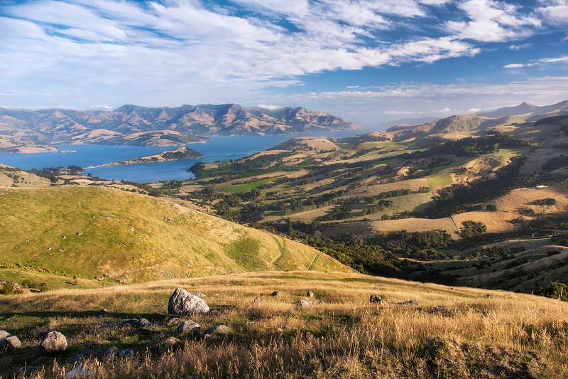 Akaroa Harbour from Summit Road