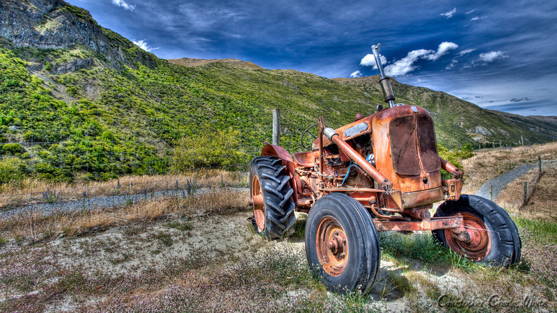 Vintage Tractor New Zealand HDR