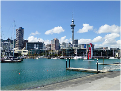Westhaven Marina in Auckland is the largest yacht marina in the Southern Hemisphere with nearly two thousand berths and swing moorings, and tends to be continually booked. Auckland, known as 'City of Sails', and we were pleased to see that it had been awarded a blue flag for water purity..