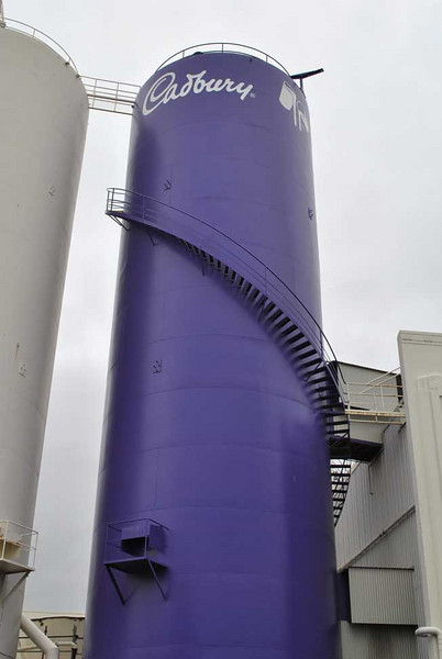 Cadbury factory, Dunedin. Inside was top-secret :(