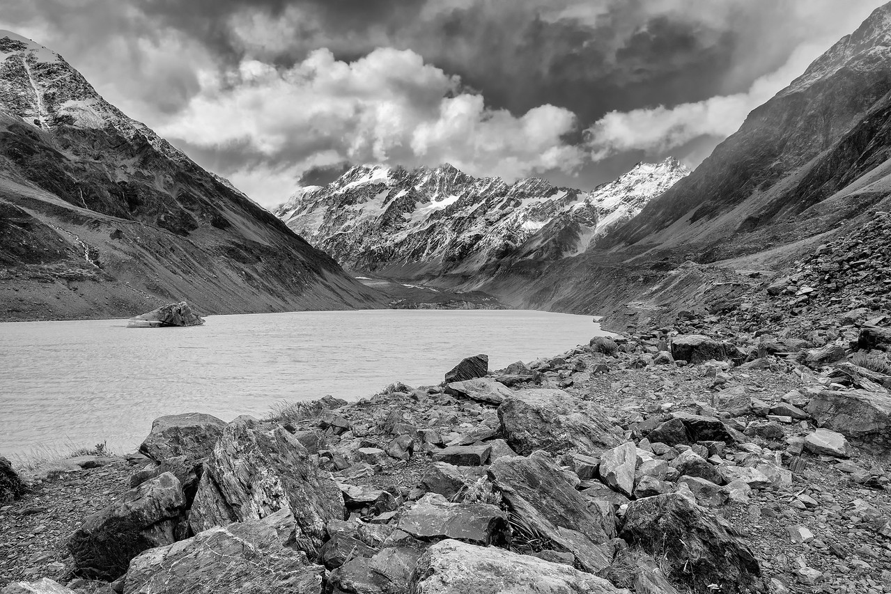 Glacial Lake, Hooker Valley