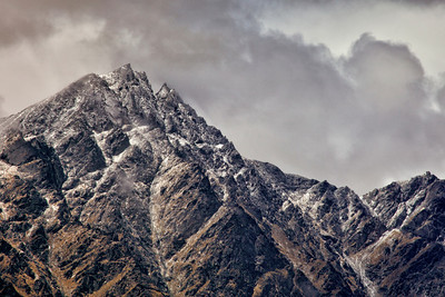 The Remarkable Mountains with a dusting of snow, Queenstown.