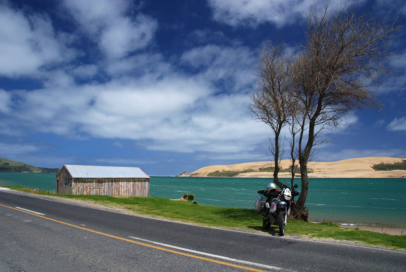 Hokianga Harbour viewed from Omapere