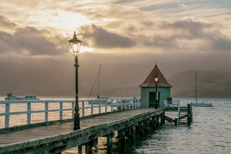 French Bay, Akaroa, Canterbury New Zealand
